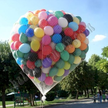Poslovne dekoracije - Spust balona 2