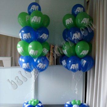 Poslovne dekoracije - Baloni s helijem i zrakom 2