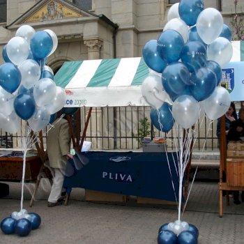 Poslovne dekoracije - Baloni s helijem i zrakom 1