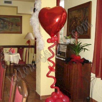Valentinovo - dekoriranje prostora 2