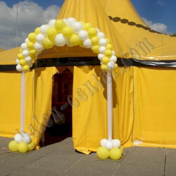 Poslovne dekoracije - Balonski lukovi 3