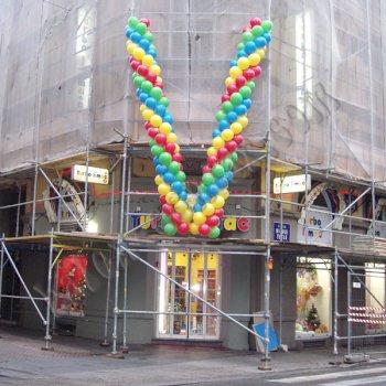 Poslovne dekoracije - Balonski girlande 3