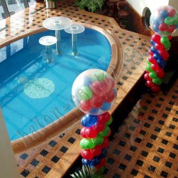 Poslovne dekoracije - Balonski stupovi 3