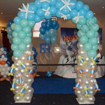 Poslovne dekoracije - Balonski lukovi 6