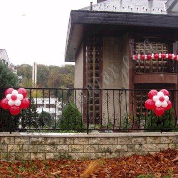 Balonske dekoracije - Dekoriranje kuća 4