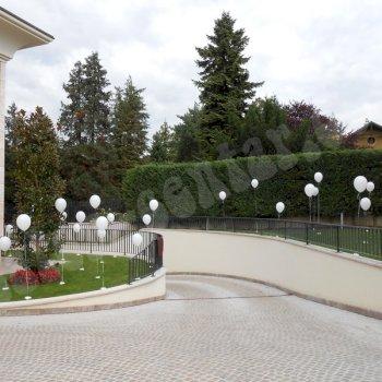 Balonske dekoracije - Dekoriranje kuća 5