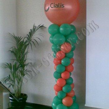 Poslovne dekoracije - Balonski stupovi 4